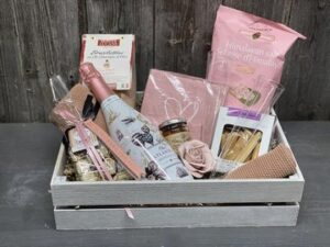 Geschenk: pink Lady - schön verpackt