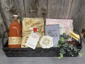 Geschenkkorb - italienischer Abend