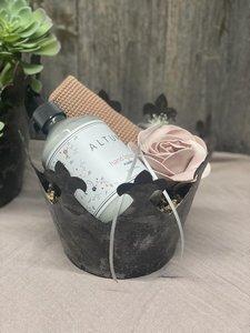 Geschenk - Krone schön verpackt