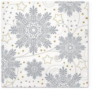 "Serviette ""Snowflakes"""