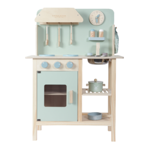 Kinderspielküche aus Holz mint - LITTLE DUTCH