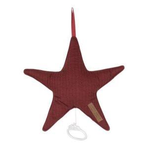 Spieluhr Stern pure indian red - LITTLE DUTCH